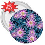 Whimsical Garden 3  Buttons (100 pack)  Front