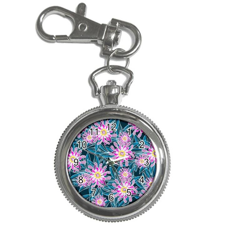 Whimsical Garden Key Chain Watches