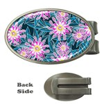 Whimsical Garden Money Clips (Oval)  Front