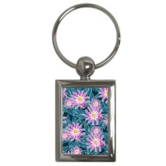 Whimsical Garden Key Chains (rectangle)  by DanaeStudio