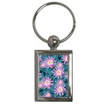 Whimsical Garden Key Chains (Rectangle)  Front
