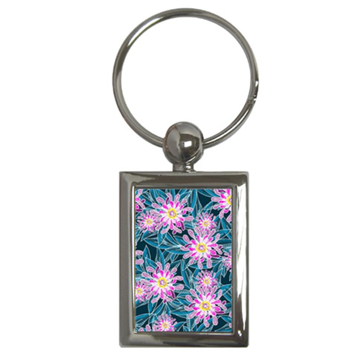 Whimsical Garden Key Chains (Rectangle)