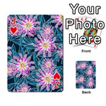 Whimsical Garden Playing Cards 54 Designs  Front - HeartJ