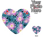 Whimsical Garden Playing Cards 54 (Heart)  Front - DiamondK