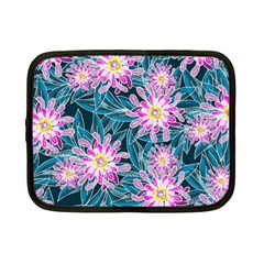 Whimsical Garden Netbook Case (small)  by DanaeStudio