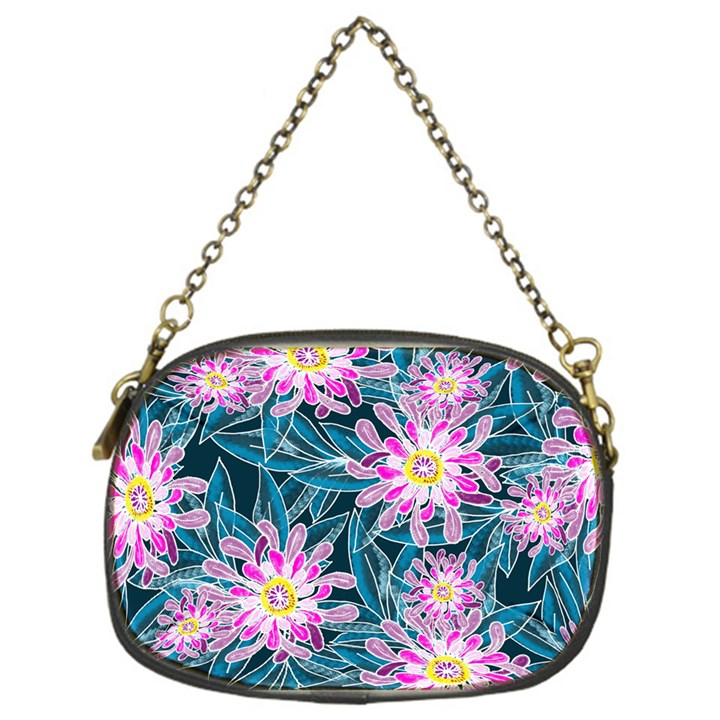 Whimsical Garden Chain Purses (One Side)