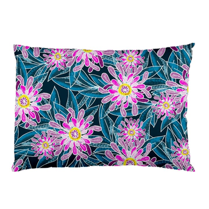 Whimsical Garden Pillow Case