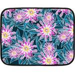 Whimsical Garden Double Sided Fleece Blanket (Mini)  35 x27 Blanket Front