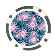 Whimsical Garden Poker Chip Card Guards (10 Pack)  by DanaeStudio