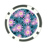 Whimsical Garden Poker Chip Card Guards (10 pack)  Back