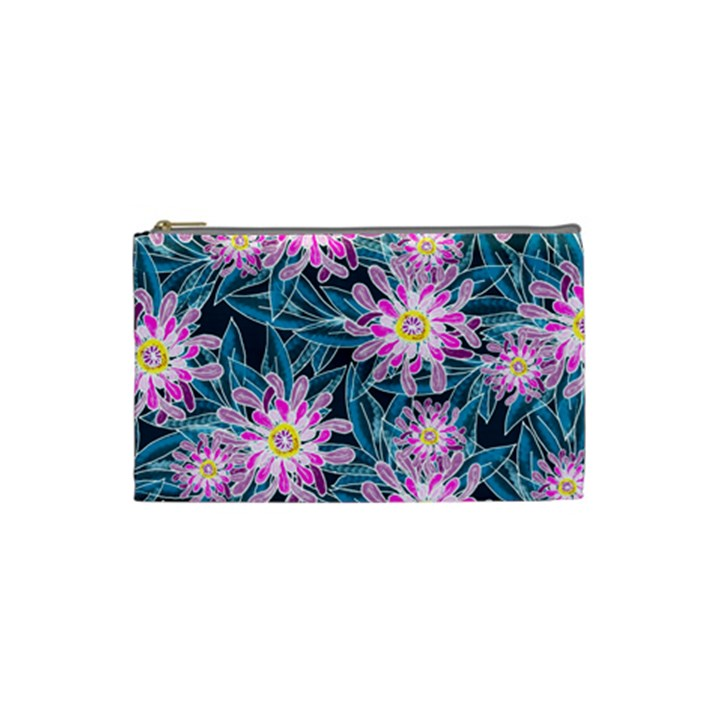 Whimsical Garden Cosmetic Bag (Small)