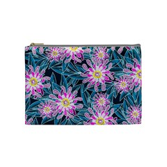 Whimsical Garden Cosmetic Bag (medium)