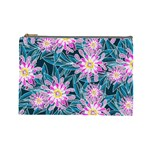 Whimsical Garden Cosmetic Bag (Large)  Front