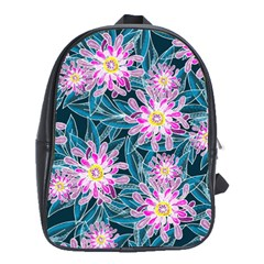 Whimsical Garden School Bags(large)  by DanaeStudio