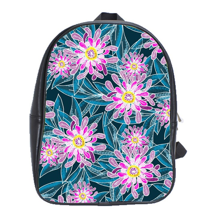 Whimsical Garden School Bags(Large)
