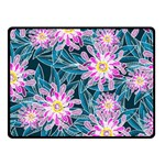 Whimsical Garden Fleece Blanket (Small) 50 x40 Blanket Front
