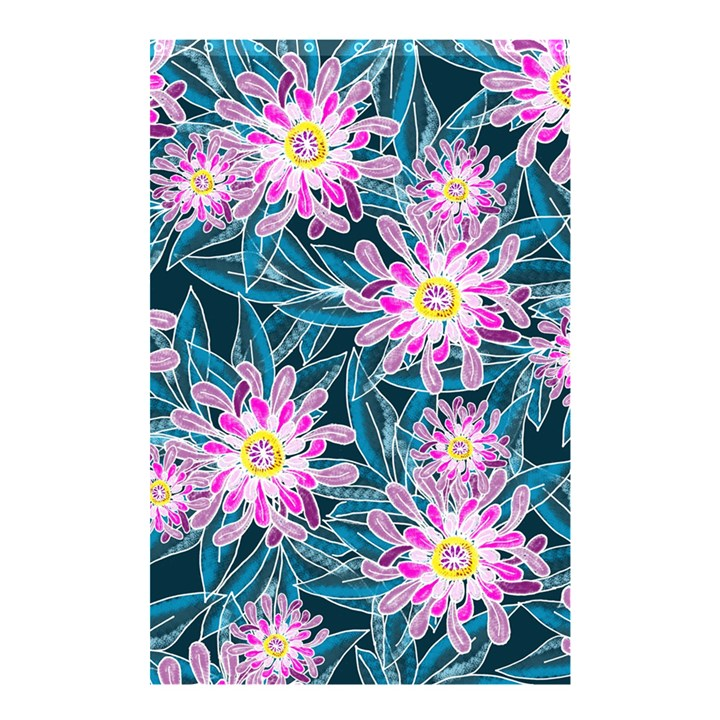 Whimsical Garden Shower Curtain 48  x 72  (Small)