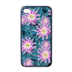 Whimsical Garden Apple Iphone 4 Case (black) by DanaeStudio