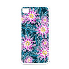 Whimsical Garden Apple Iphone 4 Case (white)