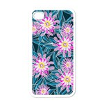 Whimsical Garden Apple iPhone 4 Case (White) Front