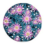Whimsical Garden Round Filigree Ornament (2Side)