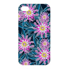 Whimsical Garden Apple Iphone 4/4s Premium Hardshell Case by DanaeStudio