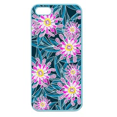 Whimsical Garden Apple Seamless Iphone 5 Case (color) by DanaeStudio
