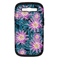 Whimsical Garden Samsung Galaxy S Iii Hardshell Case (pc+silicone) by DanaeStudio