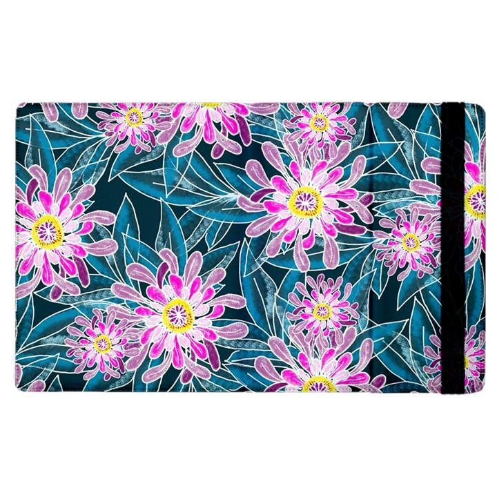 Whimsical Garden Apple iPad 3/4 Flip Case