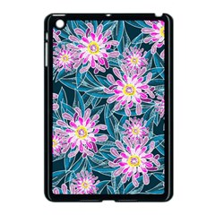 Whimsical Garden Apple Ipad Mini Case (black) by DanaeStudio