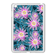 Whimsical Garden Apple Ipad Mini Case (white) by DanaeStudio