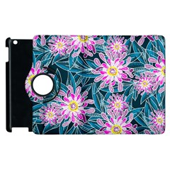 Whimsical Garden Apple Ipad 3/4 Flip 360 Case