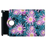 Whimsical Garden Apple iPad 3/4 Flip 360 Case Front