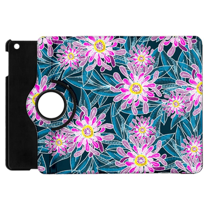 Whimsical Garden Apple iPad Mini Flip 360 Case
