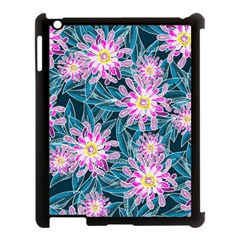 Whimsical Garden Apple Ipad 3/4 Case (black) by DanaeStudio