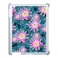 Whimsical Garden Apple Ipad 3/4 Case (white) by DanaeStudio