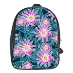 Whimsical Garden School Bags (XL)  Front