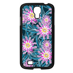 Whimsical Garden Samsung Galaxy S4 I9500/ I9505 Case (black) by DanaeStudio