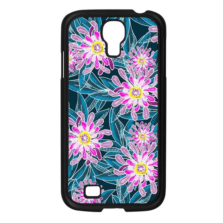 Whimsical Garden Samsung Galaxy S4 I9500/ I9505 Case (Black)