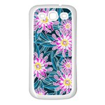 Whimsical Garden Samsung Galaxy S3 Back Case (White) Front