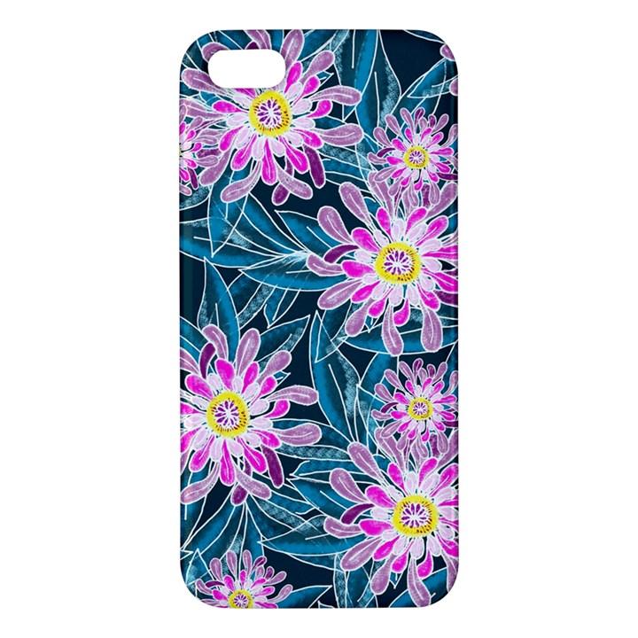 Whimsical Garden iPhone 5S/ SE Premium Hardshell Case