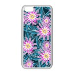 Whimsical Garden Apple iPhone 5C Seamless Case (White) Front