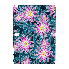 Whimsical Garden Samsung Galaxy Note 10 1 (p600) Hardshell Case by DanaeStudio