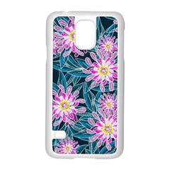 Whimsical Garden Samsung Galaxy S5 Case (white) by DanaeStudio