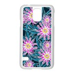 Whimsical Garden Samsung Galaxy S5 Case (White) Front