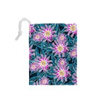 Whimsical Garden Drawstring Pouches (Small)  Back