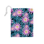 Whimsical Garden Drawstring Pouches (Medium)  Back