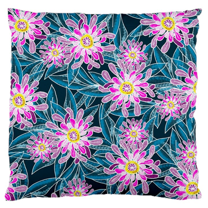 Whimsical Garden Standard Flano Cushion Case (Two Sides)