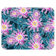Whimsical Garden Double Sided Flano Blanket (Medium)