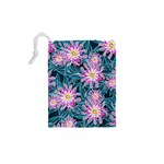 Whimsical Garden Drawstring Pouches (XS)  Back